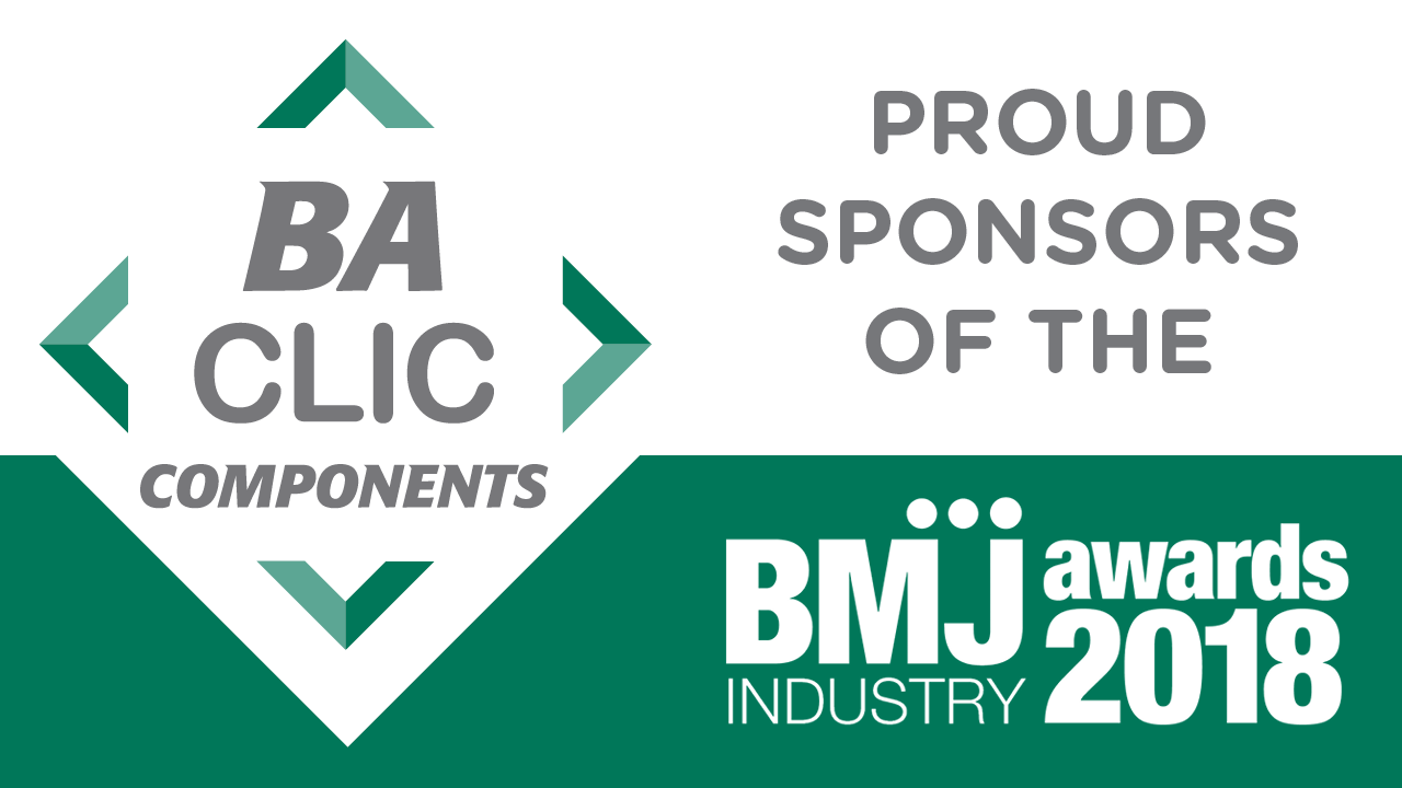 BA CLIC Components joins the BMJ Industry Awards 2018 sponsor line-up