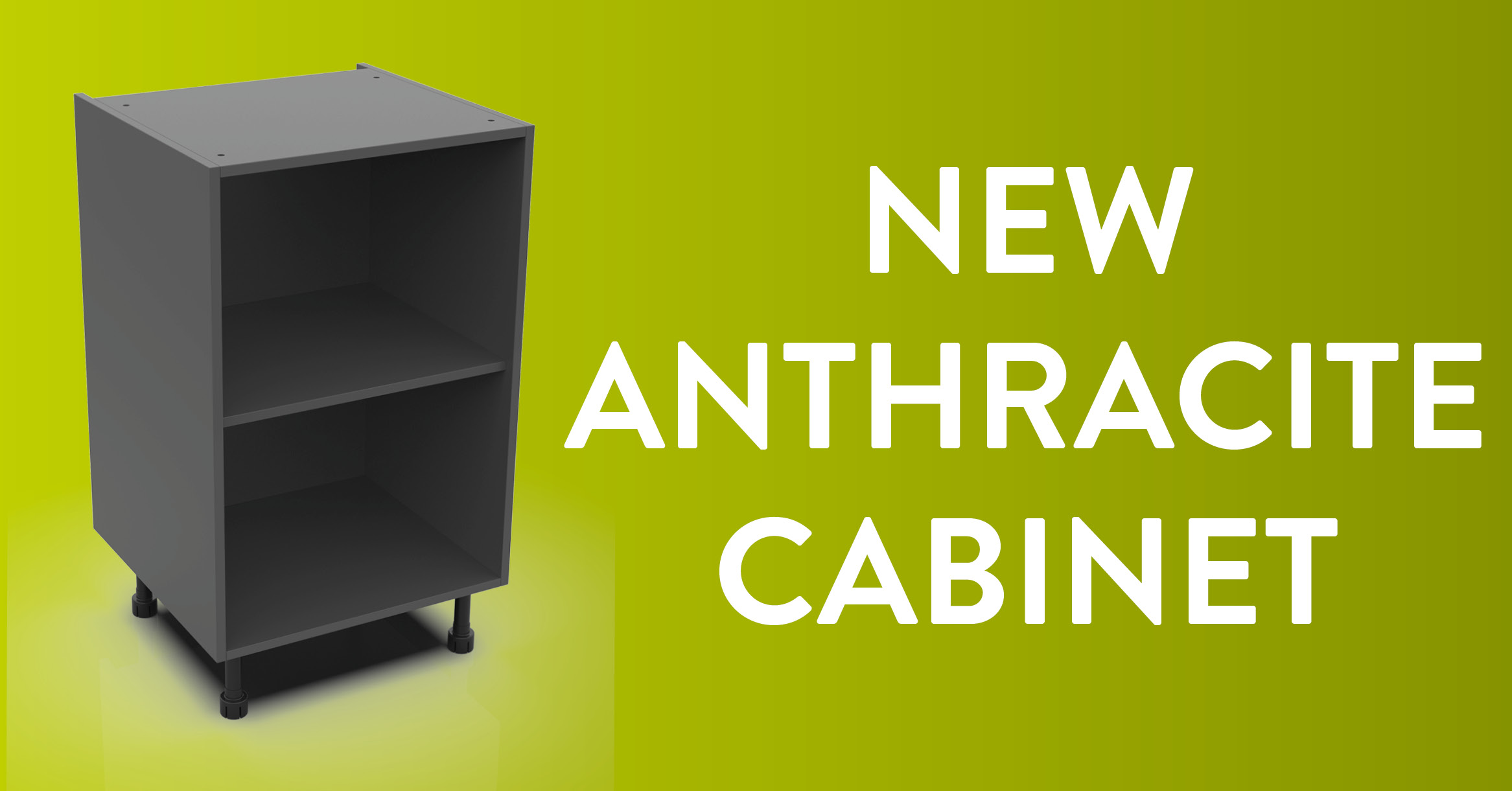 New Anthracite ClicBox Cabinet